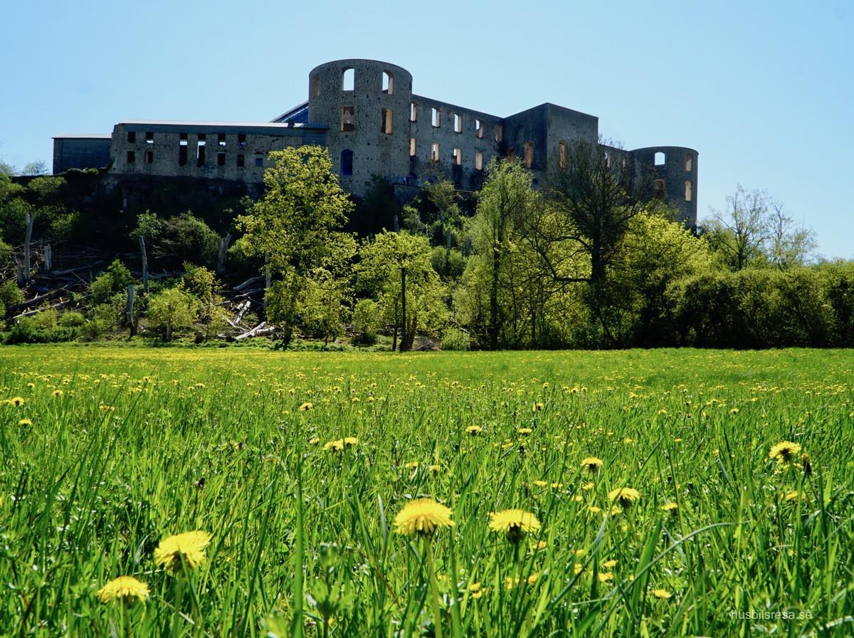 Borgholm - Solliden och slottsruinen