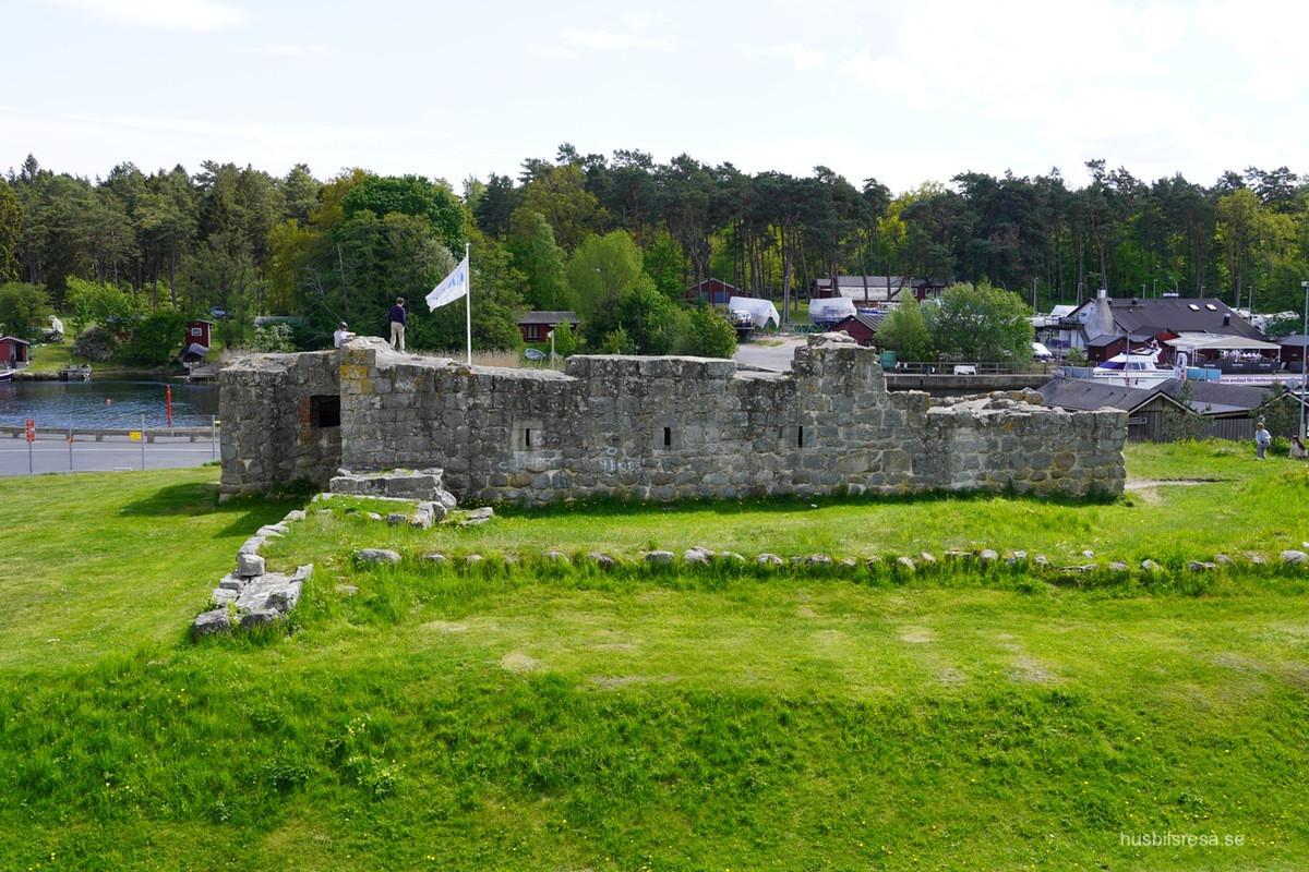 Åhus borg - en häftig ruin