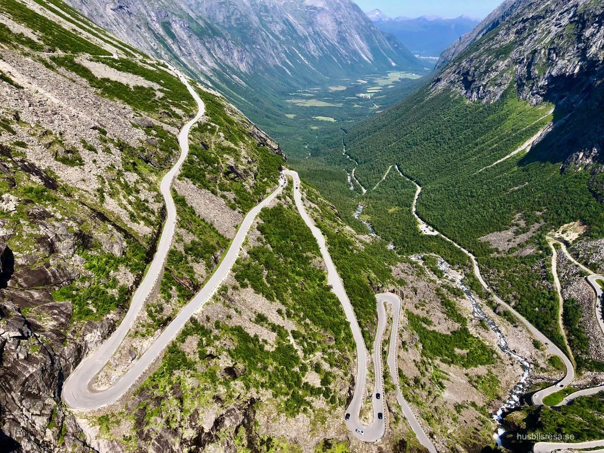 Trollstigen - i Norge