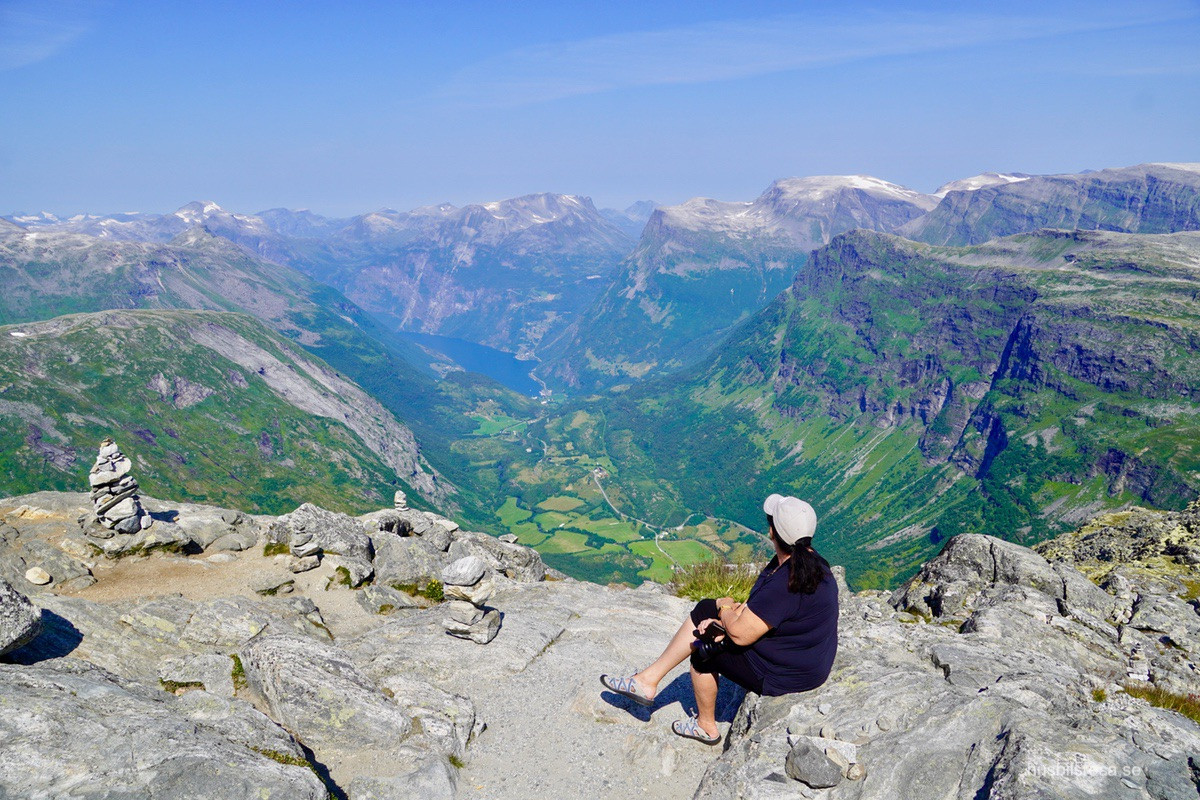 Dalsnibba, Norge